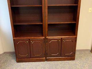 Nice wood Book shelves