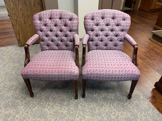 2 Office arm chairs