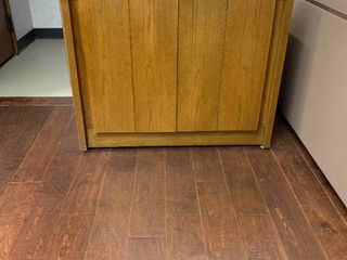 Office wood cabinet
