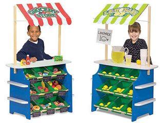 Melissa   Doug Grocery Store and lemonade Stand