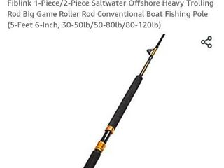 crazy trolling fishing pole