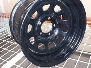 Pro Comp Steel Wheels Series 52 Wheel with Flat Black Finish  15x8 5x4 5