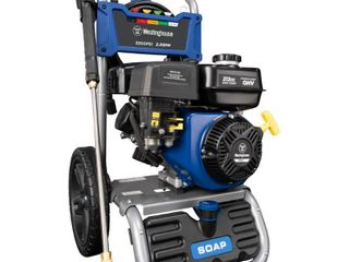 Westinghouse WPX3200 Gas Powered Pressure Washer   3200 PSI and 2 5 GPM   Soap Tank and Five Nozzle Set   CARB Compliant