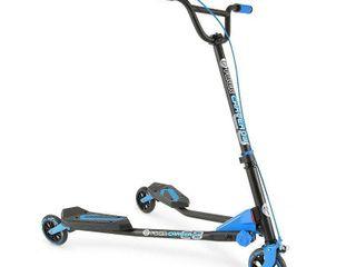 Y Volution Y Fliker C3 Carver Scooter   Blue