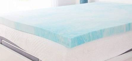 Xtra Comfort Memory Foam Mattress Topper Queen   3 Inch Thick Gel Pad for Firm Bed   Soft Sleeping Pillow Top for RV Camping and Dorm   Egg Crate Alternative luxury Sleep layer