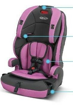 Graco Tranzitions Harness Booster Seat  Proof