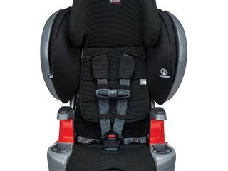 Britax Grow With You ClickTight Plus Harness 2 Booster Car Seat a 3 layer Impact Protection a 25 to 120 Pounds  Jet Safewash
