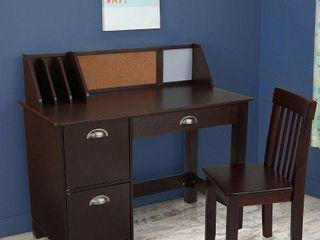 KidKraft Study Desk with Chair   Espresso
