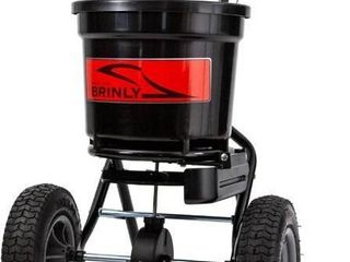 Brinly P20 500bhdf Push Spreader With Side Deflector Kit  50 pound Capacity blac