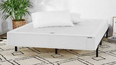 AmazonBasics Mattress Foundation   Smart Box Spring for Full Size Bed  Tool Free Easy Assembly