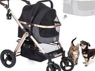 HPZ Pet Rover Prime 3 in 1 luxury Dog Cat Pet Stroller