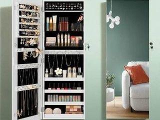 SONGMICS Jewelry Cabinet Armoire