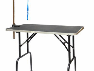 Go Pet Club Pet Dog Grooming Table with Arm  30 Inch