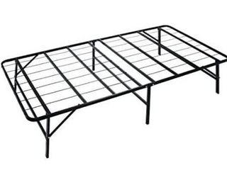 Naomi Home idealBase 14  Foldable Metal Platform Bed Frame   Mattress Foundation