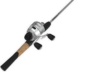 Zebco 33 Rhino Tough Spincast Reel And 2 piece Fishing Rod Combo 6 5 foot Dur