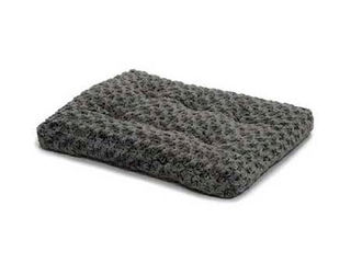 Midwest Quiet Time Pet Bed Deluxe Gray Ombre Swirl 46  x 29