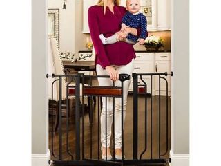 Regalo Home Accents Safety Gate  Black