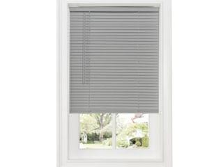 Achim Cordless GII Deluxe Sundown 1  Room Darkening Mini Window Blind  Gray