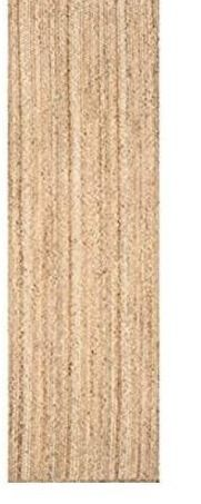 nulOOM Rigo Hand Woven Jute Runner Rug  2  6  X 8  Natural