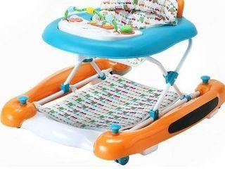 Dream On Me Go Getter 3 in 1 Activity Baby Walker   Rocker  Walk Behind  Push Walker  Orange