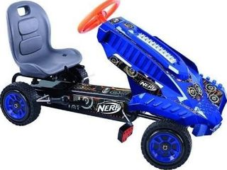 Hauck Nerf Striker Go Kart Ride On  Blue and Orange