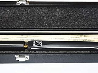 T R sports MACE 3 4 Piece 57 Inch 60  Handmade Snooker Cue Kit Ash Shaft Professional Hardwood Cue