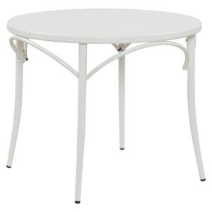 Ellie Bistro Round Table   White   Reservation Seating