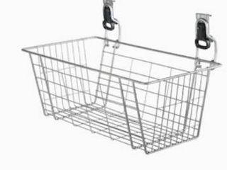 Rubbermaid FastTrack Garage Satin Nickel Steel Hose Basket