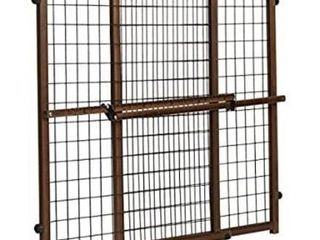 Evenflo Position   lock Tall   Wide Baby Gate  Pressure Mounted  Farmhouse Collection