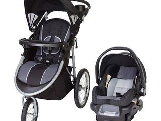 Baby Trend Pathway 35 Jogger Travel System  Optic Grey