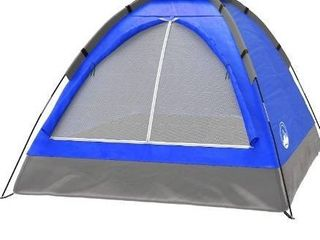 HIKERGARDEN Camping Tent   Tent for Camping Waterproof  Windproof Fabric  Easy Setup with large Mesh for Ventilation