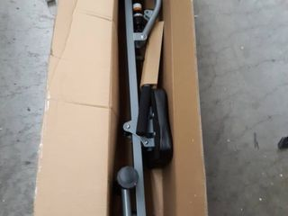 Sunny Health and Fitness Rowing Machine   Silver
