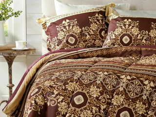 eBay Celtic European Design Queen Comforter Set with Two Shams