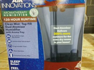 Air Innovations 2 2 Gal Top Fill Digital w  Aroma Tray   Red