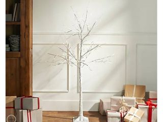 Indoor Outdoor 4  Birch Tree with lights and Remote by Valerie