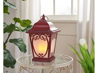 Indoor Outdoor 14  Carriage lantern with Candle by Valerie