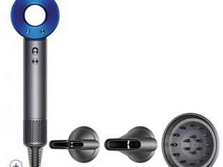 Dyson Supersonic Hair Dryer Grey Iron blue Shrink Wrapped Factory Sealed