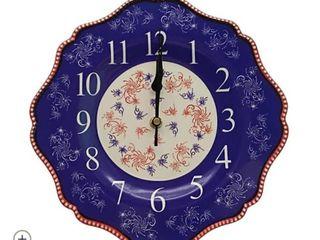 Temp tations Firework 10 5  Ceramic Clock