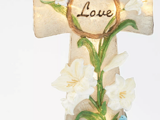 HomeWorx by Harry Slatkin Decorative Pedestal Candle Holder POINSETTIA