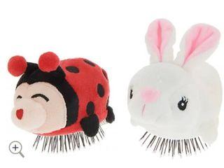 Set of 2 Tangle Pets Detangling Hair Brushes by lori Greiner