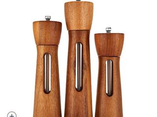 Rachael Ray Set of 3 Acacia Wood Grinders