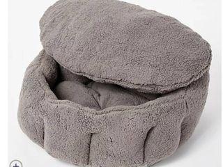 Burrow Bud 29  x 31  Cozy Cuddle Pet Bed