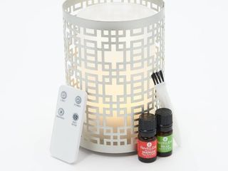 RevitaSpa Aromatherapy Oil Diffuser   Flameless Candle