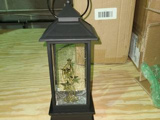 Illuminated Holiday Water lantern with Timer by lori Greiner