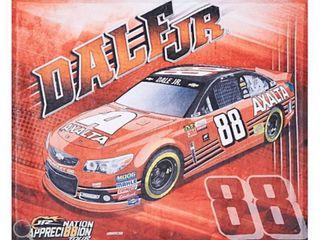 Dale Earnhardt Jr  50 x60  Graphic Fleece Throw