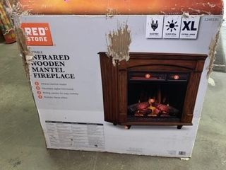 NEW IN BOX RED ZONE ElECTRIC INFRARED WOODEN