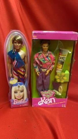 TOTAllY HAIR KEN AND BARBIE GUY FRIEND