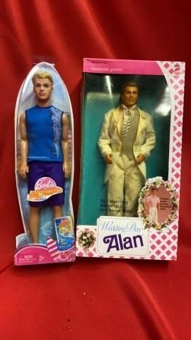 WEDDING DAY AlAN AND BARBIES AND MERMAID TAlE
