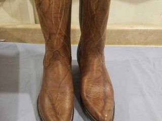 MENS TEXAS BRAND BOOTS   SIZE 14D