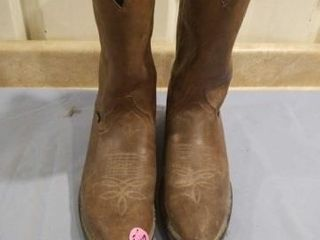 MENS JUSTIN BOOTS  GOOD CONDITION  SIZE 13D